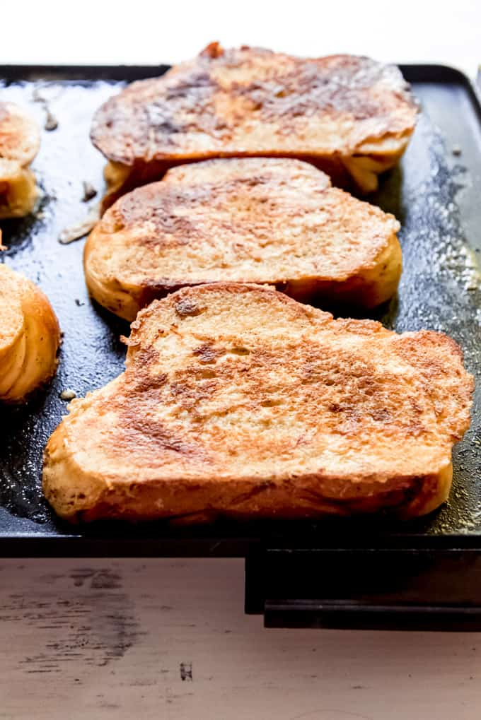 French Toast On An Electric Griddle
